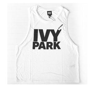 IVY PARK  women's tank top/ muscle shirt Sz. L